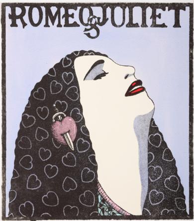 Serie:Diosas de la ópera: Romeo&Julieta|Obra gráficadeFernando Bellver| Compra arte en Flecha.es