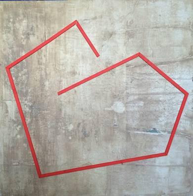 Corazon|PinturadeMarina Muñoz Viada| Compra arte en Flecha.es
