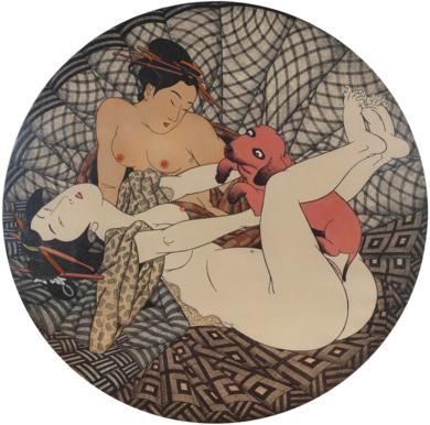 AI TOKYO. 6. Trio.|Obra gráficadeFernando Bellver| Compra arte en Flecha.es