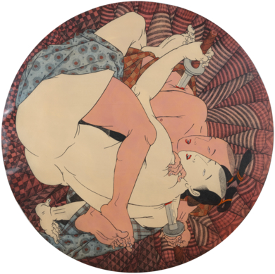 AI TOKYO. 5. Samurais|Obra gráficadeFernando Bellver| Compra arte en Flecha.es