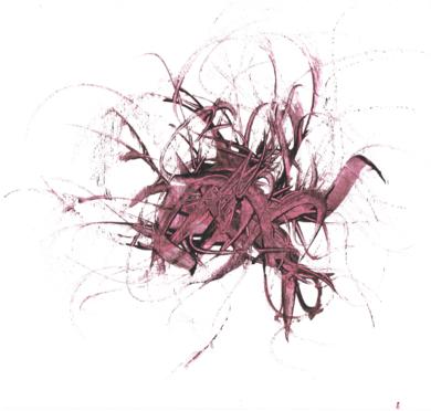 Acrobático aleteo|DibujodeJorge Regueira| Compra arte en Flecha.es