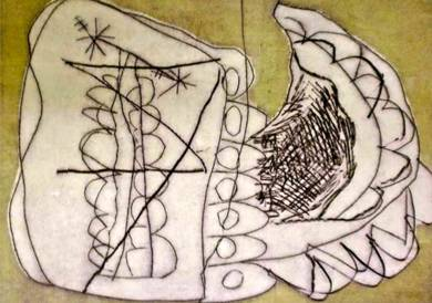 un beso de pariposa|DibujodeSílvia Colomina| Compra arte en Flecha.es