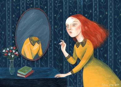 Espejo|DibujodeHelena Perez Garcia| Compra arte en Flecha.es