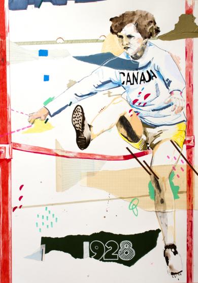 Ethel Catherwood|CollagedeAlejandra de la Torre| Compra arte en Flecha.es