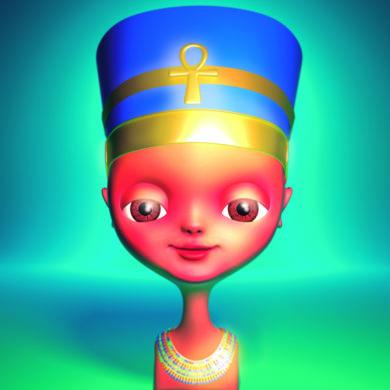 Vanidad (Nefertiti)|DigitaldeEmilio León| Compra arte en Flecha.es