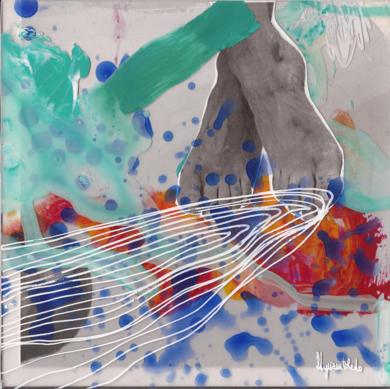 Ti vengo a cercare|CollagedeMyriam Toledo| Compra arte en Flecha.es