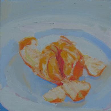 Mandarina|PinturadeJuan Moreno Moya| Compra arte en Flecha.es