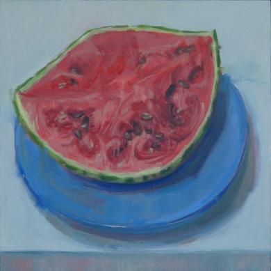 Sandia|PinturadeJuan Moreno Moya| Compra arte en Flecha.es
