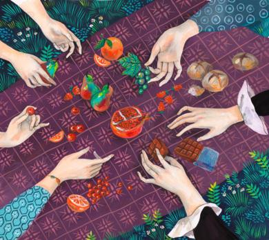 Picnic en Combray|DibujodeHelena Perez Garcia| Compra arte en Flecha.es