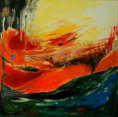 EL DESEO|PinturadeLika| Compra arte en Flecha.es