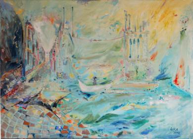Lisboa|PinturadeLika| Compra arte en Flecha.es