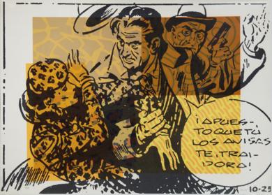Comic (I)|Obra gráficadeFernando Bellver| Compra arte en Flecha.es
