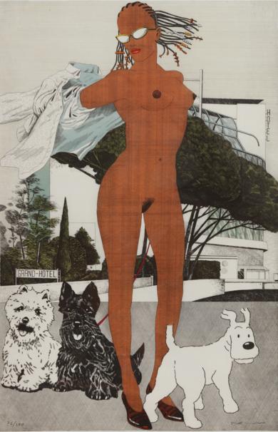 Serie Desnudos IV|Obra gráficadeFernando Bellver| Compra arte en Flecha.es