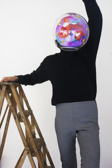 Planeta III|EsculturadeVioleta McGuire| Compra arte en Flecha.es