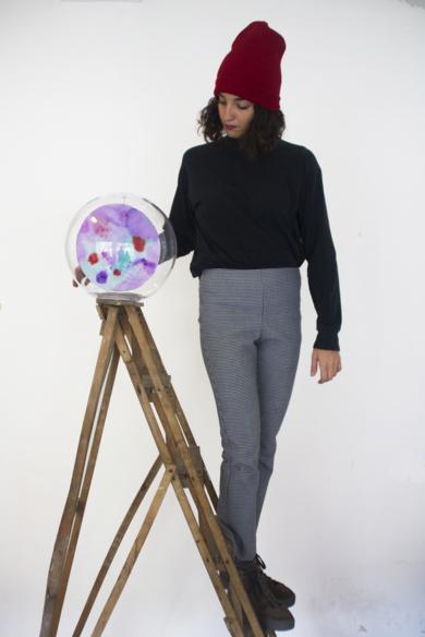 FLOK7|PinturadeVioleta McGuire| Compra arte en Flecha.es