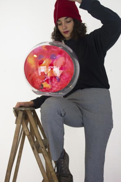 Medium Planeta II|EsculturadeVioleta McGuire| Compra arte en Flecha.es