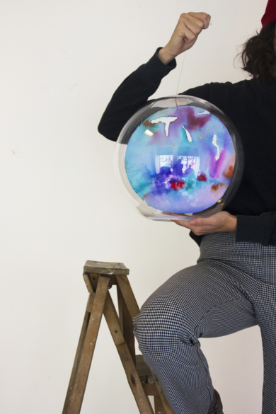 Medium Planeta VI|EsculturadeVioleta McGuire| Compra arte en Flecha.es