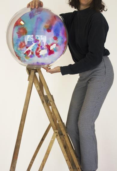 Super Planeta I|EsculturadeVioleta McGuire| Compra arte en Flecha.es