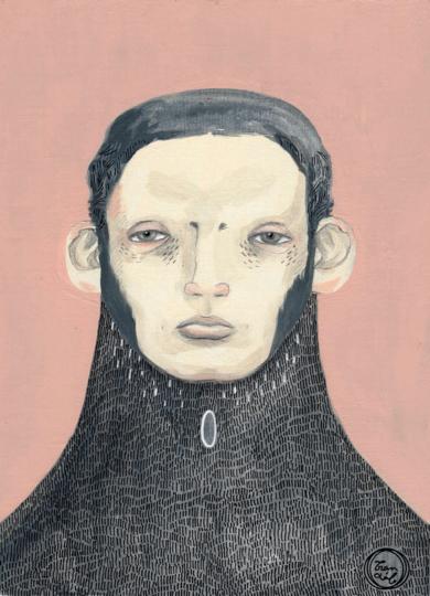 Poeta|DibujodeBran Sólo| Compra arte en Flecha.es