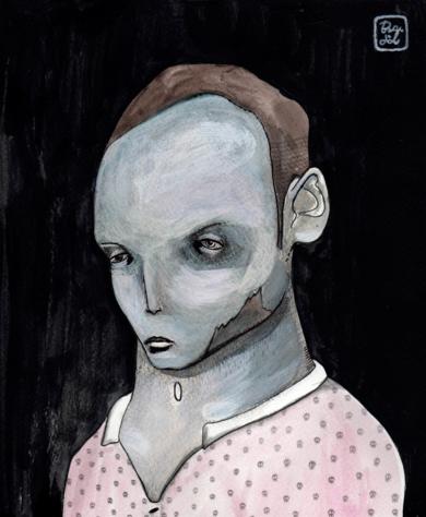 Calaveras|DibujodeBran Sólo| Compra arte en Flecha.es