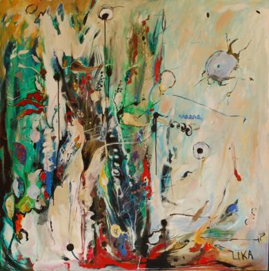 Mis dias 2|PinturadeLika| Compra arte en Flecha.es