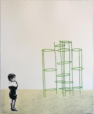 El laberinto|Obra gráficadeAna Valenciano| Compra arte en Flecha.es