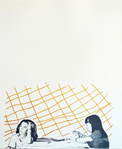 La hora de la siesta|Obra gráficadeAna Valenciano| Compra arte en Flecha.es