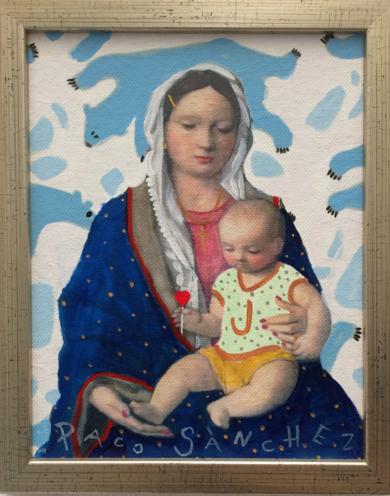 Virgen Guapa de los osos amorosos|PinturadePaco Sánchez| Compra arte en Flecha.es
