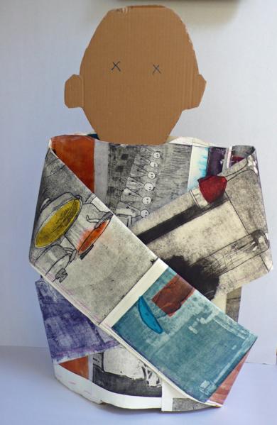 Camisa de fuerza|EsculturadeAna Valenciano| Compra arte en Flecha.es