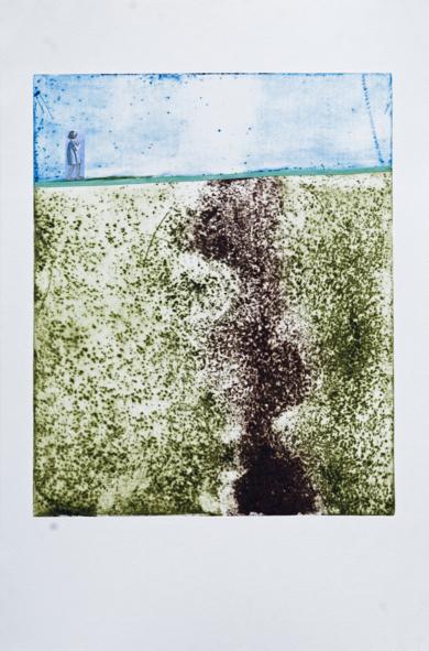 Un mundo a tus pies|Obra gráficadeAna Valenciano| Compra arte en Flecha.es