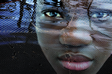 Regard sorti des profondeurs|DigitaldeAngèle Etoundi Essamba| Compra arte en Flecha.es