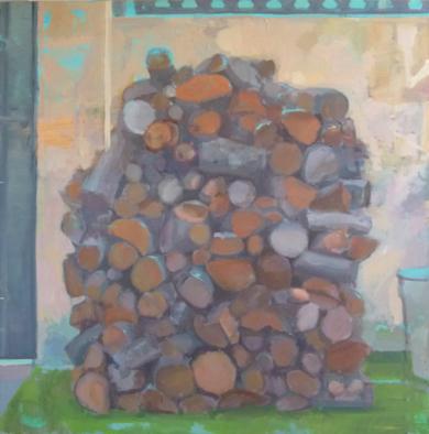 Troncos|PinturadeJuan Moreno Moya| Compra arte en Flecha.es