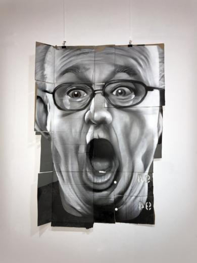 Retrato anónimo|PinturadeASIER| Compra arte en Flecha.es