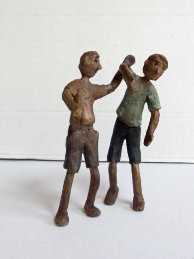 La colleja|EsculturadeAna Valenciano| Compra arte en Flecha.es