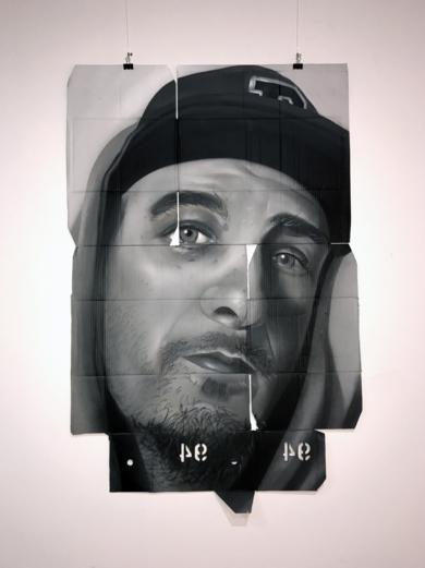 Autorretrato|PinturadeASIER| Compra arte en Flecha.es