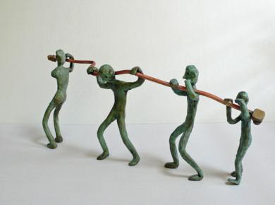 Procesión|EsculturadeAna Valenciano| Compra arte en Flecha.es