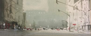 Apuntes de ciudad|PinturadeIñigo Lizarraga| Compra arte en Flecha.es