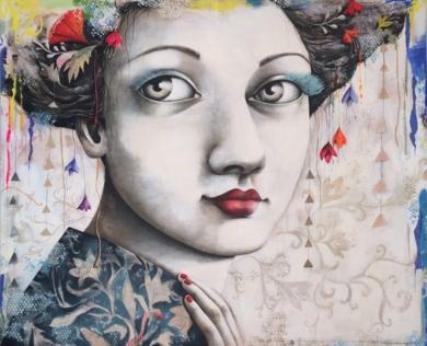 Gran Jardín|PinturadeMenchu Uroz| Compra arte en Flecha.es