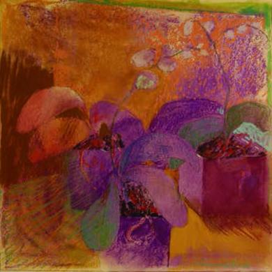 Orquídea 1|DibujodeCarolina Veramendi B| Compra arte en Flecha.es