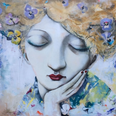 Pensamientos|PinturadeMenchu Uroz| Compra arte en Flecha.es