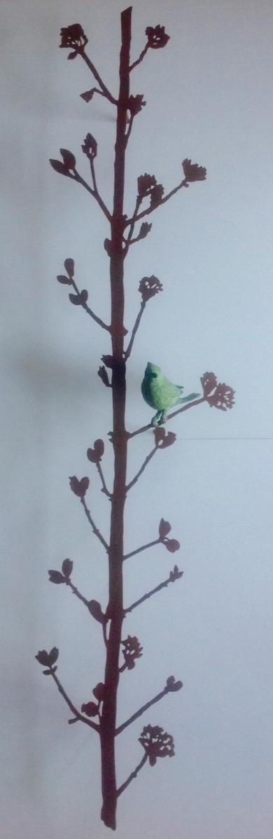 Rama vertical EsculturadeCharlotte Adde  Compra arte en Flecha.es