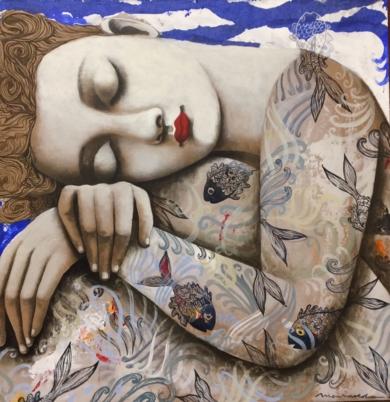 Jardín secreto I|PinturadeMenchu Uroz| Compra arte en Flecha.es