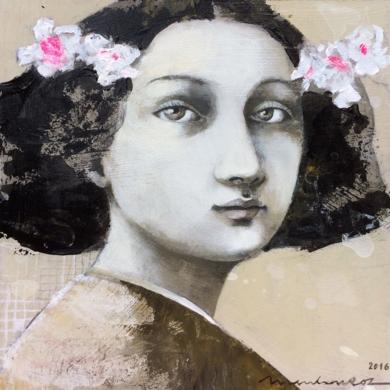 Ella|PinturadeMenchu Uroz| Compra arte en Flecha.es