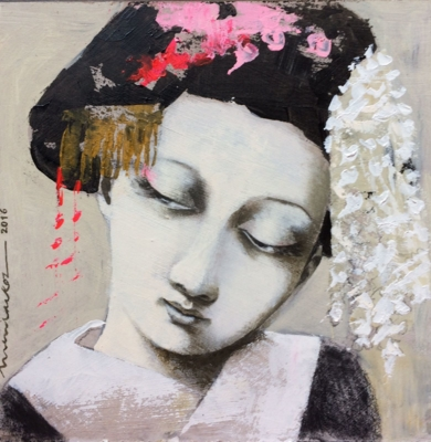 Ella II|PinturadeMenchu Uroz| Compra arte en Flecha.es