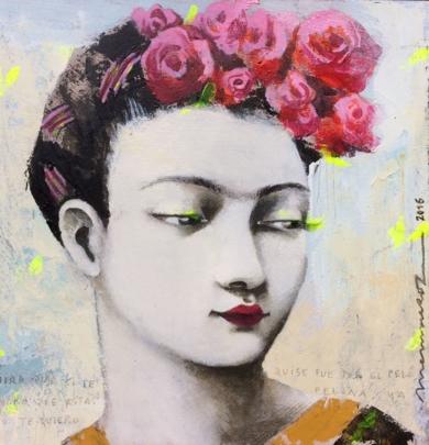Ella I|PinturadeMenchu Uroz| Compra arte en Flecha.es