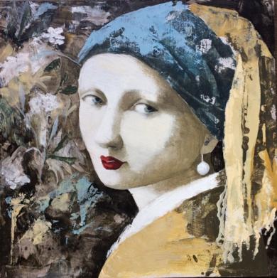 Ella III|PinturadeMenchu Uroz| Compra arte en Flecha.es