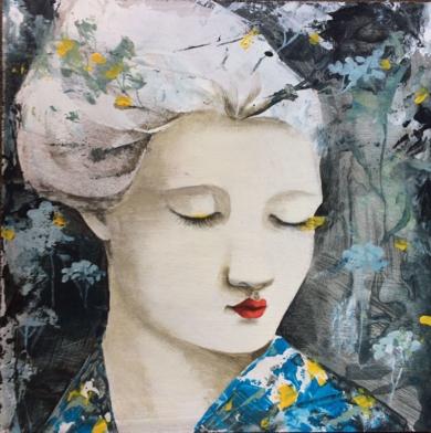 Ella IV|PinturadeMenchu Uroz| Compra arte en Flecha.es