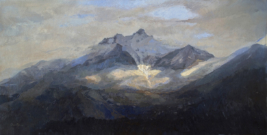 Día nublado|PinturadeOrrite| Compra arte en Flecha.es