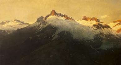 Pirineo|PinturadeOrrite| Compra arte en Flecha.es