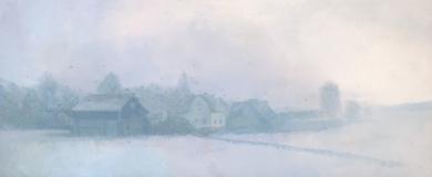 Mañana nublada|PinturadeOrrite| Compra arte en Flecha.es